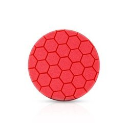 RRC Hexa 80mm czerwony średnio miękki pad polerski