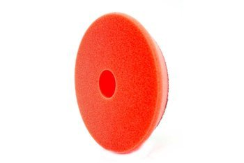 RRC Pro DA 80mm czerwona średnio miękka gąbka polerska